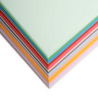 Personalised Pack Coloured 120GSM Paper - 100 sheets
